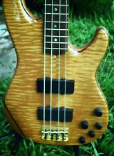 RARE 2002 Fender American Deluxe Zone 4 String Bass! Flame Maple! USA!Fender HSC
