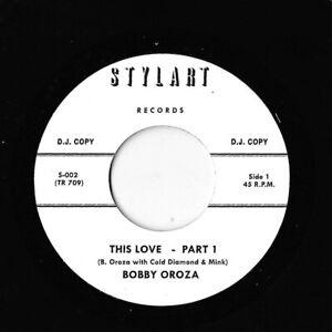 Rare Demo Bobby Oroza -  This Love - Genuine Timmion WDJ TR709