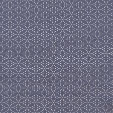 AU MAISON Wachstuch Sakura Stone Blue blau beschichtete Baumwolle 0,5 Meter
