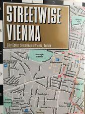 Brand NEW Streetwise Vienna, Austria City Center Street Travel Map - VERY RARE!