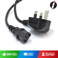 1.5M - 1.8M Brand New UK PC Mains Power Cable Kettle Lead Power Lead TFT LCD TV