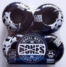 Roues de skateboard Bones 100s OG Formula v4 noires 52mm