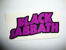 """2 Black Sabbath 4 """"pegatinas de música Guitarra Motos Cascos Tt OIM"""