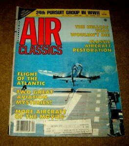 Air Classics Magazine April 1985
