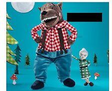 IKEA LUFSIG Big Bad WOLF Grandmother SOFT Plush Toy Little Red Riding Hood NWT