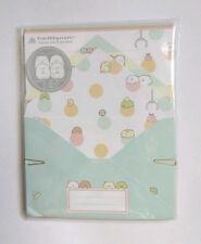 San-x Sumikko Gurashi Claw Machine Letter Set stationery Japan 2013