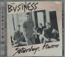 THE BUSINESS - SATURDAYS HEROES - (still sealed cd) - AHOY CD 13