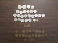 Canadian Coin collection. 50 different, 1920-1973 PLUS ELEVEN $1 coins