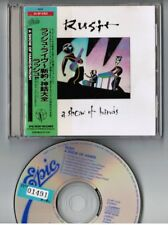 RUSH A Show Of Hands JAPAN CD 1988 1st issue 25.8P-5162 Laminated OBI ex.Rental