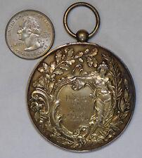 Deutschland 1898 Medaille Damen Silber BU0225 Kombinieren