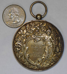 Germany 1898 Medal woman silver BU0225 combine