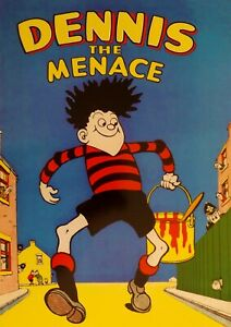 """Reproduction """"Dennis The Menace - Comic"""" Poster, Home Wall Art"""