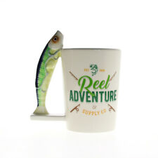 Real Adventure Personalised Sardines Fish Mug River Novelty Fishing Mug Tea Cup