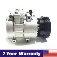 AC A/C Compressor W/ AC Clutch For Kia Rondo 2007-2008 2.4L 60-02283 NA New