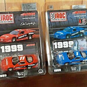 1999 Dale Earnhardt Jr #11 IROC Dale Sr #1 NASCAR Action Die cast 1:64 Stock Car