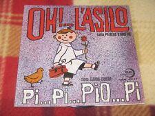 """OH!…L'ASILO / PI…PI…PIO…PI Edizioni Paoline SRB 45.17 LP 7"""""""
