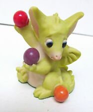 "Whimsical World Of Pocket Dragons ""The Juggler"" Figure Sculpture '92 Rare"