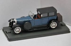 VEREM 304 Panhard Levassor model road car blue black body with tan interior 1:43