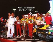 TERRY LABONTE BRISTOL 1995 VICTORY LANE CRASH 8X10 PHOTO NASCAR WINSTON CUP