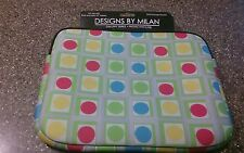 "Milan Neoprene 10"" Tablet Sleeve-Case for iPad-Extra Storage Pocket-New"