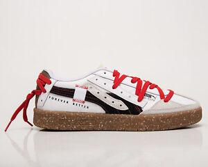 Puma Oslo-City Re.Gen Men's White Nimbus Cloud Casual Sneakers Lifestyle Shoes