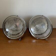 Porsche 356 A Pre-A European Headlamp Pair BOSCH Headlight Lens Glass VW Beetle