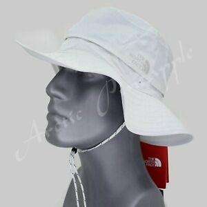 The North Face Horizon Breeze Brim Bucket Hat Cap Gray Adjustable Size L-XL NWT