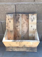 Reclaimed Pallet Wood Wall Mount Mail Letter Holder Shelf Rustic Primitive