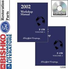2002 Ford F-150 Truck Shop Service Repair Manual CD Engine Drivetrain Electrical