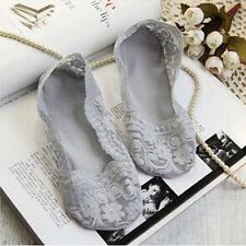 Calcetines de encaje antideslizantes de algodón mujer calcetín invisibleSE