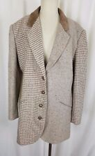 New York Style Pied De Poule Tweed a Spina di Pesce Patchwork Giacca Blazer