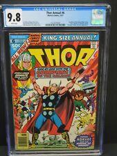 Thor Annual #6 CGC 9.8 NM/MT - Guardians of the Galaxy, Avengers ! Korvac Saga !