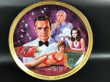 ASSIETTE JAMES BOND 007 DIAMONDS ARE FOREVER FRANKLIN MINT NUMEROTEE SIGNEE 1995