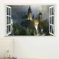 Wallpaper Magic Harry Potter 3D Decal Mural Art Wall Stickers For Kids FREE SHIP