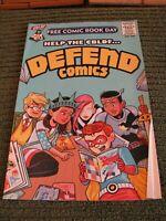 Comic Book Legal Defense Fund Help CBLDF Defend Comics FCBD May 2015