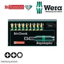 Wera Diamant Bitsatz Bit-Check 8751-9/BDC 10-teilig mit Rapidaptor