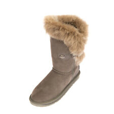 RRP €370 AUSTRALIA LUXE COLLECTIVE Leather Snow Boots EU 36 UK 3 US 5 Shearling