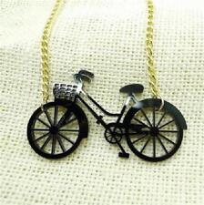 CG1159...LASER CUT LADIES BICYCLE NECKLACE - FREE UK P&P