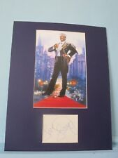 "Eddie Murphy in ""Coming to America"" signed by Louie Anderson as Maurice"