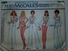 Costume da Bagno Bikini Camicia Pantaloni Cartamodello Taglia 12 Mccalls  5025 16ca17779a7
