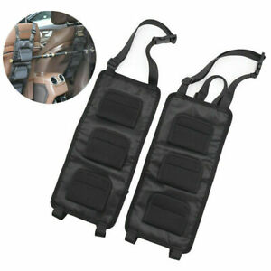 Car SUV Seat Back Rod Rack Organizer Storage Multi-functional Hanging Holder Bag