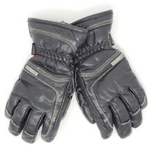 Hestra Unisex Adults CZone Leather Ski  Snowboard Insulated Gloves sz 8 Black