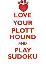 Love Your Plott Hound and Play Sudoku Plott Hound Sudoku Level 1 of 15 by Loving