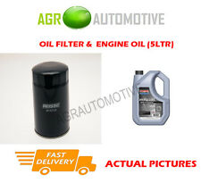 DIESEL OIL FILTER + SS 10W40 OIL FOR MITSUBISHI SPACE WAGON 2.0 82BHP 1992-98
