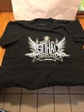 "Vintage Society Of Healing Arts Institute ""Sohai� Size L Black T-shirt Ships N24"