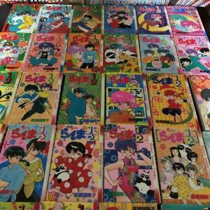 Japanese Language Ranma 1/2 - Manga Vol.1-38 Complete set Comics Manga