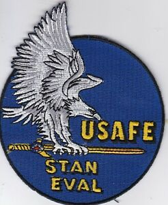 USAF Air Force USAFE STAN EVAL Ramstein AB Germany patch