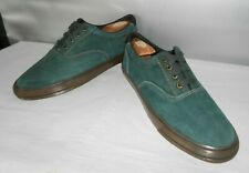 Men's Cole Haan Sporting Green Leather Casual Sport Fashion Oxfords Size 11 D