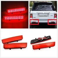 Red Lens 24 SMD LED Bumper Reflector Light For Range Rover LR2 Freelander 2 L322