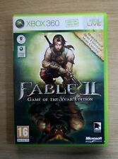 FABLE II 2 Game Of The Year Edition COMPLETE Microsoft Xbox 360 Game FREE P&P